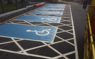 Disabled Parking Markings