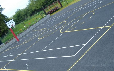 airport, playground markings 036